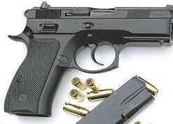 CZ 75 Compact for safe